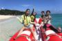 海遊びの定番と言えば「バナナボート」、大人数でワイワイしたいならこれ!!
